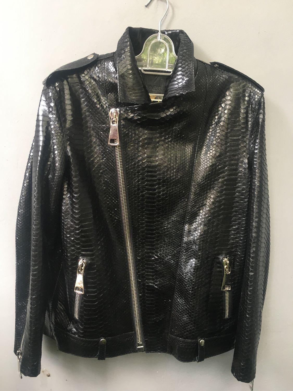 Мужская куртка из кожи питона, Куртки, Санкт-Петербург,  Фото №1
