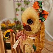 Куклы и игрушки ручной работы. Ярмарка Мастеров - ручная работа Зайка тедди Морковка. Handmade.