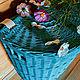 Плетёная корзина для белья. Корзины. КОRЗИНКА. Интернет-магазин Ярмарка Мастеров.  Фото №2