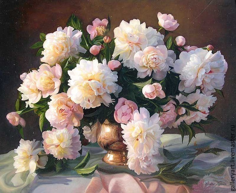 Картину купить цветы пионы доставка цветов ночью краснадар