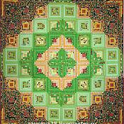"""Для дома и интерьера ручной работы. Ярмарка Мастеров - ручная работа лоскутное одеяло """"Felicita"""". Handmade."""