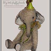 Куклы и игрушки ручной работы. Ярмарка Мастеров - ручная работа Слоник Лео. Handmade.