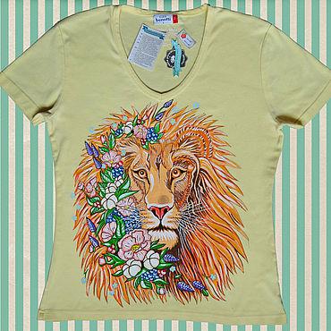 Clothing handmade. Livemaster - original item Hand painted t-shirt. Handmade.