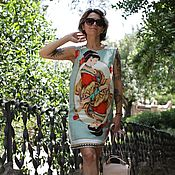Одежда handmade. Livemaster - original item Silk dress Dolce Gabbana