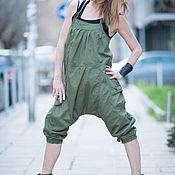 Одежда handmade. Livemaster - original item Fashion jumpsuit Military Green. Handmade.