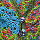 Кофты и свитера ручной работы. Заказать Кофта женская вязаная крючком РАДУГА 2. Дом Мод - Аксинии Гладковой. Ярмарка Мастеров.