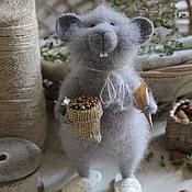 Куклы и игрушки ручной работы. Ярмарка Мастеров - ручная работа Мышонок Крис. Handmade.