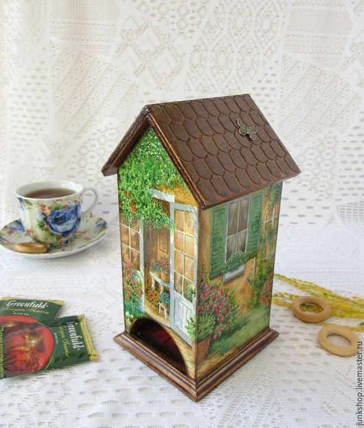 """Кухня ручной работы. Ярмарка Мастеров - ручная работа. Купить Чайный домик """"Солнечное настроение"""". Handmade. Чайный домик, солнечный"""