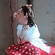 Статуэтки ручной работы. Девочка с чемоданом (не фея:))). Фея, похожая на вас (Анна Черных). Ярмарка Мастеров. Очки, фигурка