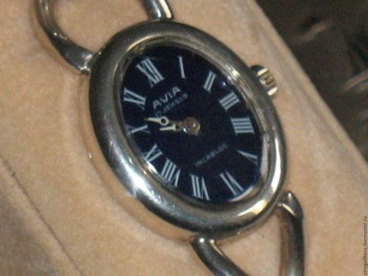 Винтажные украшения. Ярмарка Мастеров - ручная работа. Купить винтажные серебряные женские наручные часы. Handmade. Серебряный, женские часы