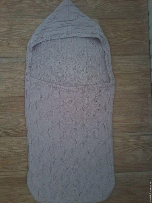 """Для новорожденных, ручной работы. Ярмарка Мастеров - ручная работа. Купить спальный мешок """"Сладкие сны"""". Handmade. Бледно-розовый"""