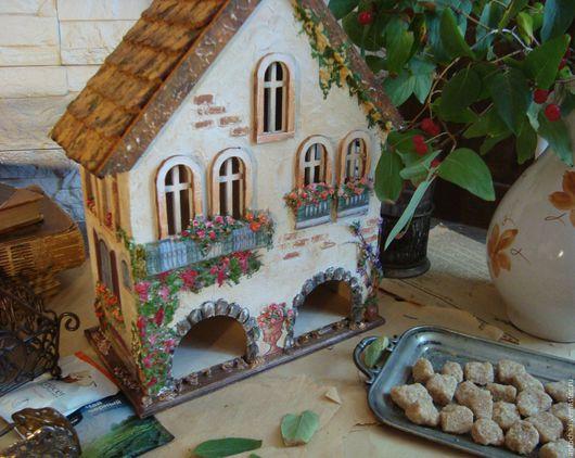 """Кухня ручной работы. Ярмарка Мастеров - ручная работа. Купить """"Дом, где твое сердце"""" домик для чая. Handmade. Комбинированный"""