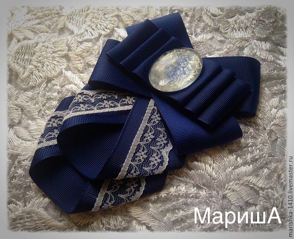 Мастер класс бабочка галстук из ленты своими руками