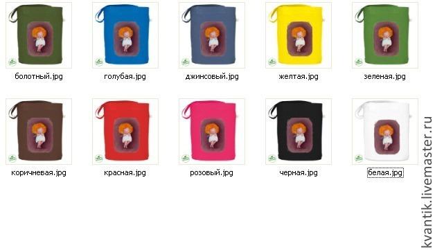 Сумочка с феечками-кокетками от Elina Ellis