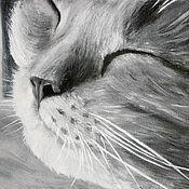 Картины и панно ручной работы. Ярмарка Мастеров - ручная работа Сладкий сон (18 х 24 см). Handmade.