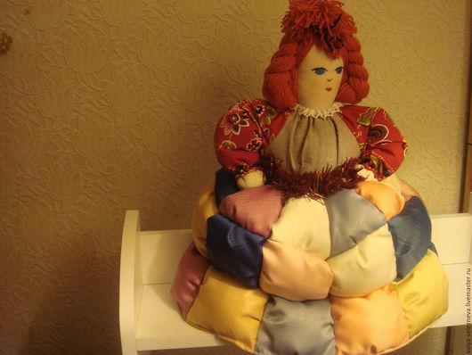Сувениры ручной работы. Ярмарка Мастеров - ручная работа. Купить кукла на чайник. Handmade. Рыжий, сувенир на Новый год, кукла