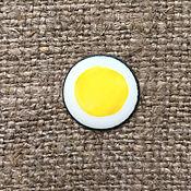 Материалы для творчества handmade. Livemaster - original item Overglaze paint Dulevo No. №5500 yellow. Handmade.