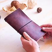 Канцелярские товары handmade. Livemaster - original item Traveler`s notebook
