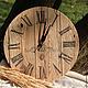 """Часы для дома ручной работы. Ярмарка Мастеров - ручная работа. Купить Часы """"Рустик"""". Handmade. Кантри, часы интерьерные"""