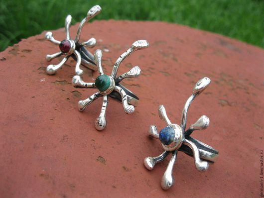 Кольца ручной работы. Ярмарка Мастеров - ручная работа. Купить кракозябры. Handmade. Посеребрение, серебро, кин дза дза