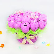 Цветы и флористика handmade. Livemaster - original item Bouquet of chocolates