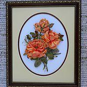 """Картины и панно ручной работы. Ярмарка Мастеров - ручная работа """"Как хороши, как свежи были розы.."""".. Handmade."""