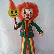 Куклы и игрушки ручной работы. Ярмарка Мастеров - ручная работа Солнечный клоун. Handmade.