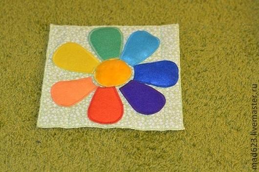 Развивающие игрушки ручной работы. Ярмарка Мастеров - ручная работа. Купить Цветик. Handmade. Развивающие игрушки, развивающий, пальчиковые игрушки