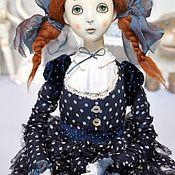 Куклы и игрушки ручной работы. Ярмарка Мастеров - ручная работа Подвижная кукла Агния. Handmade.