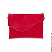 Сумки и аксессуары handmade. Livemaster - original item Clutch bag made of genuine leather