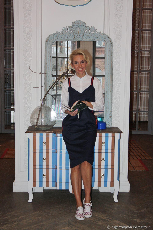 Платье с лампасами на спорте, Платья, Москва,  Фото №1