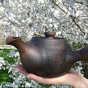 """Посуда ручной работы. Ярмарка Мастеров - ручная работа Чайник """"Цвет сакуры"""". Handmade."""