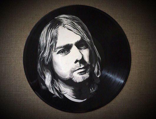 Люди, ручной работы. Ярмарка Мастеров - ручная работа. Купить Ваш портрет на виниловой пластинке. Handmade. Портет, необычный подарок