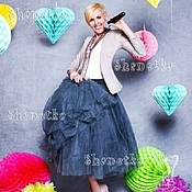 Одежда handmade. Livemaster - original item The skirt is made of tulle in the style of Carrie Bradshaw. Handmade.