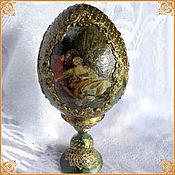 "Сувениры и подарки handmade. Livemaster - original item Interior (fireplace) egg ""Rendezvous"". Handmade."