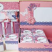 Подарки к праздникам ручной работы. Ярмарка Мастеров - ручная работа Мамины сокровища для девочки. Handmade.