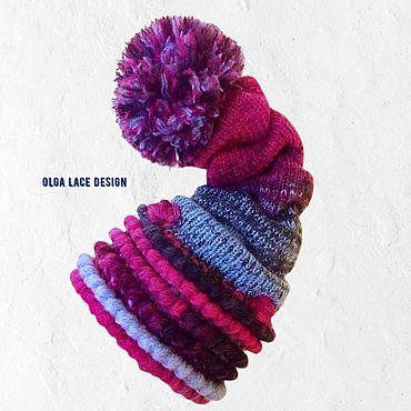 Аксессуары ручной работы. Ярмарка Мастеров - ручная работа 3D шапка - колпак от Olga Lace. Handmade.