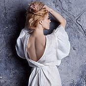 """Одежда ручной работы. Ярмарка Мастеров - ручная работа Платье """"Сияние белого"""". Handmade."""