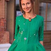 Одежда handmade. Livemaster - original item Dress-boho Green. Handmade.
