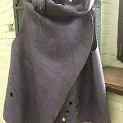 Одежда handmade. Livemaster - original item Vest-transformer felted