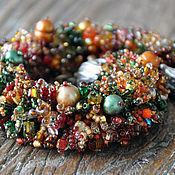 Украшения handmade. Livemaster - original item Bracelet Autumn. Handmade.