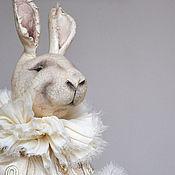 Куклы и игрушки ручной работы. Ярмарка Мастеров - ручная работа кролик Эдвард. Handmade.