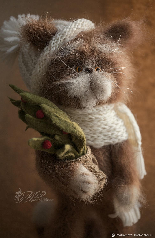 Рыжий котик Пушистик, Мягкие игрушки, Екатеринбург,  Фото №1