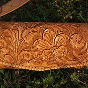 Сумки и аксессуары handmade. Livemaster - original item Beige leather bag. Handmade.
