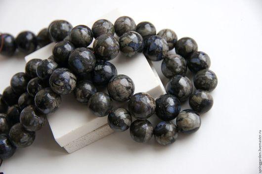 Для украшений ручной работы. Ярмарка Мастеров - ручная работа. Купить Риолит синий ОСКОЛКИ НЕБА бусины 14 и 16 мм. Handmade.