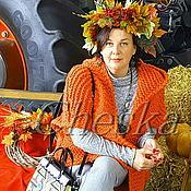 Одежда ручной работы. Ярмарка Мастеров - ручная работа Кардиган вязаный с капюшоном. Handmade.