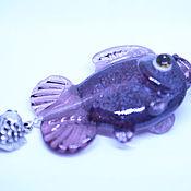 """Украшения ручной работы. Ярмарка Мастеров - ручная работа Кулон """" рыбка"""". Handmade."""