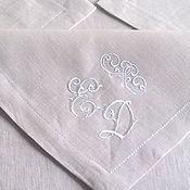 Свадебный салон handmade. Livemaster - original item Napkins for the newlyweds. Handmade.