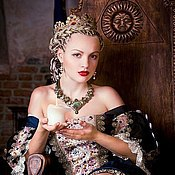 """Украшения ручной работы. Ярмарка Мастеров - ручная работа Колье """"Your Majesty"""". Handmade."""