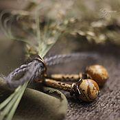 """Украшения ручной работы. Ярмарка Мастеров - ручная работа Серьги """"Песчаный берег"""". Handmade."""